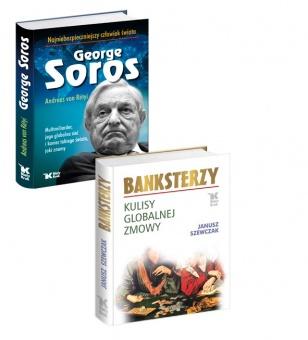 PAKIET George Soros. Najniebezpieczniejszy człowiek świata i Banksterzy w cenie 79 zł