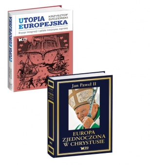 PAKIET Utopia Europejska + Europa zjednoczona w Chrystusie w promocyjnej cenie 79 zł