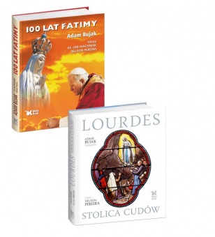 PAKIET 100 lat Fatimy i Lourdes. Stolica cudów w promocyjnej cenie 79 zł