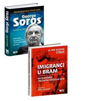 PAKIET Imigranci u bram + George Soros najniebezpieczniejszy człowiek świata w cenie 80 zł