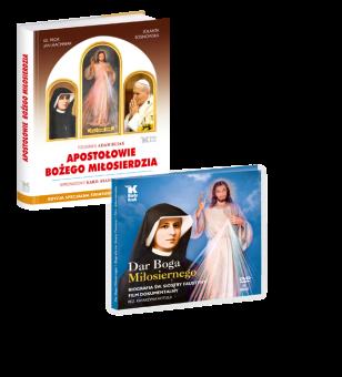 PAKIET Apostołowie Bożego Miłosierdzia + DVD Dar Bożego Miłosierdzia w promocyjnej cenie 49 zł