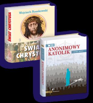 PAKIET Anonimowy katolik + Świat Chrystusa, Tom 3 w cenie 90 zł