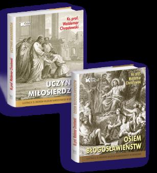 PAKIET Osiem błogosławieństw + Uczynki miłosierdzia w cenie 48 zł