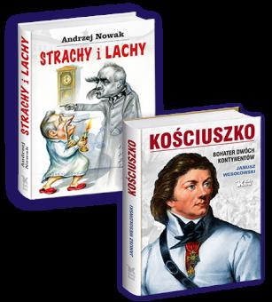 PAKIET Kościuszko. Bohater dwóch kontynentów + Strachy i Lachy - w cenie 79 zł