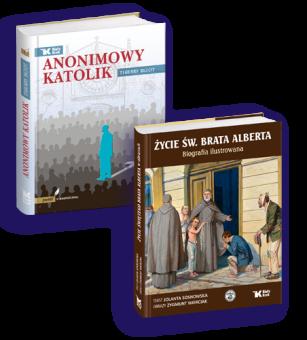 Pakiet Życie św. Brata Alberta + Anonimowy katolik w cenie 57 zł