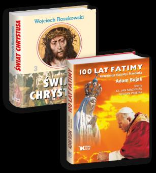 PAKIET Świat Chrystusa III + 100 lat Fatimy w cenie 79 zł