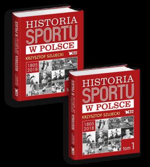 """PAKIET! """"Historia Sportu w Polsce - tom 1"""" - dwa egzemplarze w cenie 99 zł!"""