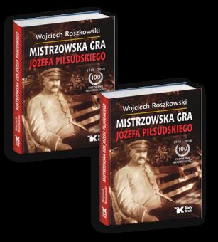 """PAKIET! """"Mistrzowska Gra Józefa Piłsudskiego"""" - dwa egzemplarze w cenie 79 zł!"""