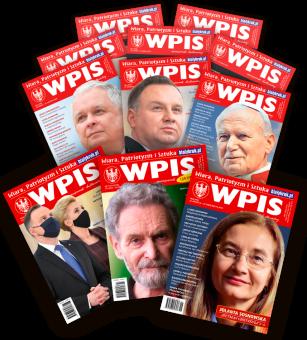 Roczna prenumerata miesięcznika WPIS. Wydanie papierowe