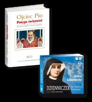 PAKIET AUDIOBOOK Dzienniczek św. Siostry Faustyny + Ojciec Pio. Potęga świętości.