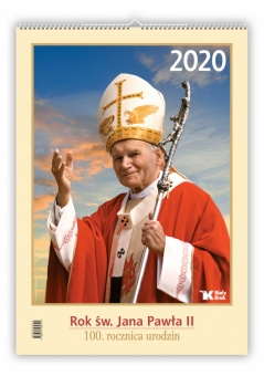 Kalendarz z św. Janem Pawłem II 2020