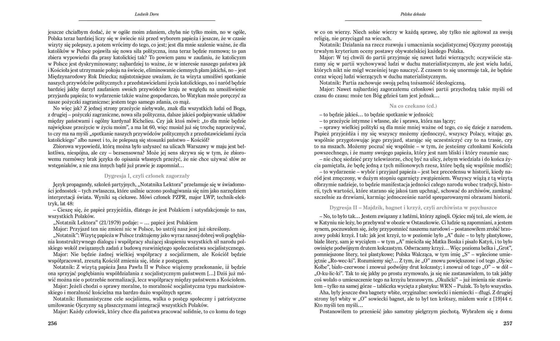 Głos Niepodległości - strony 256-257