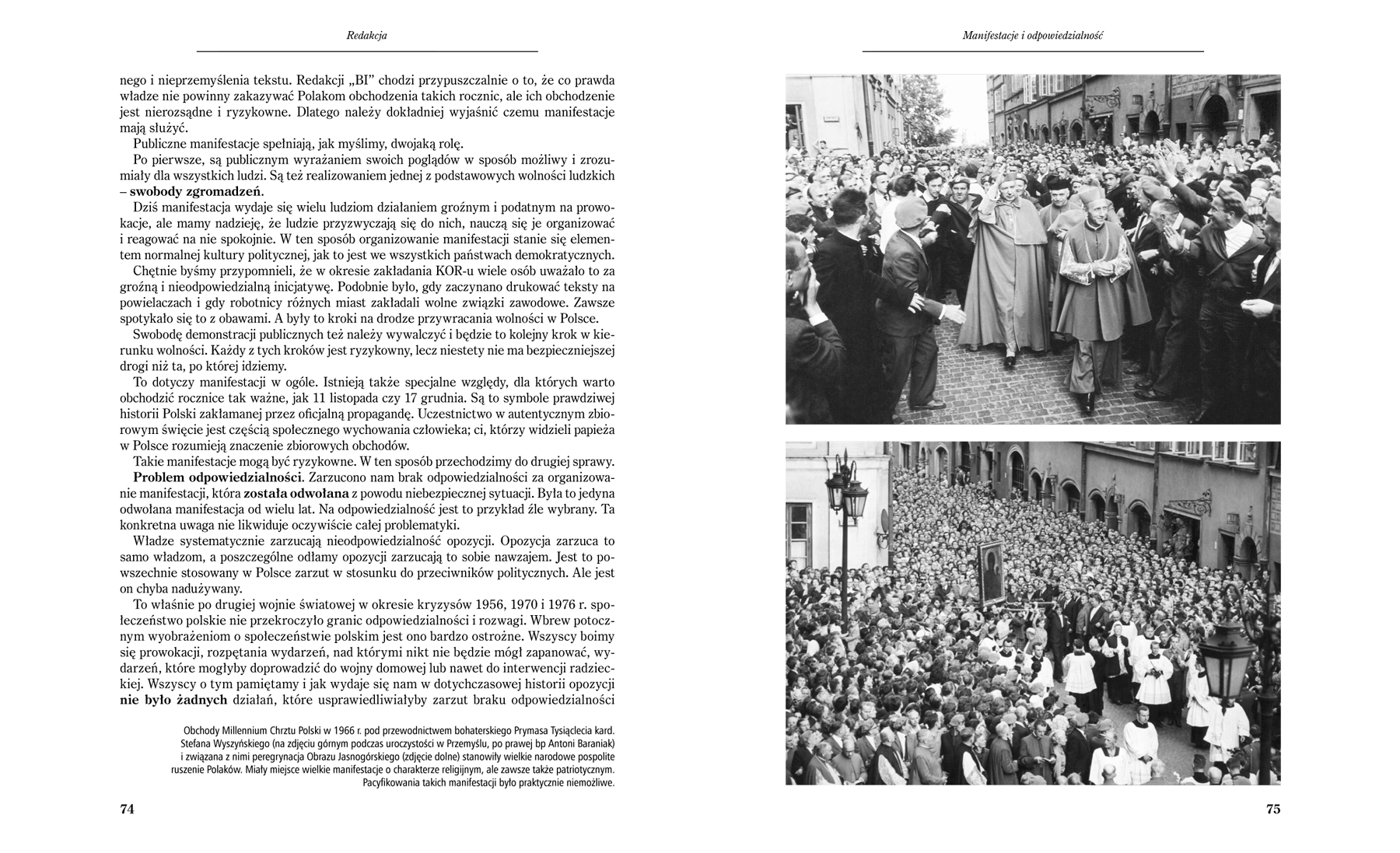 Głos Niepodległości - strony 74-75