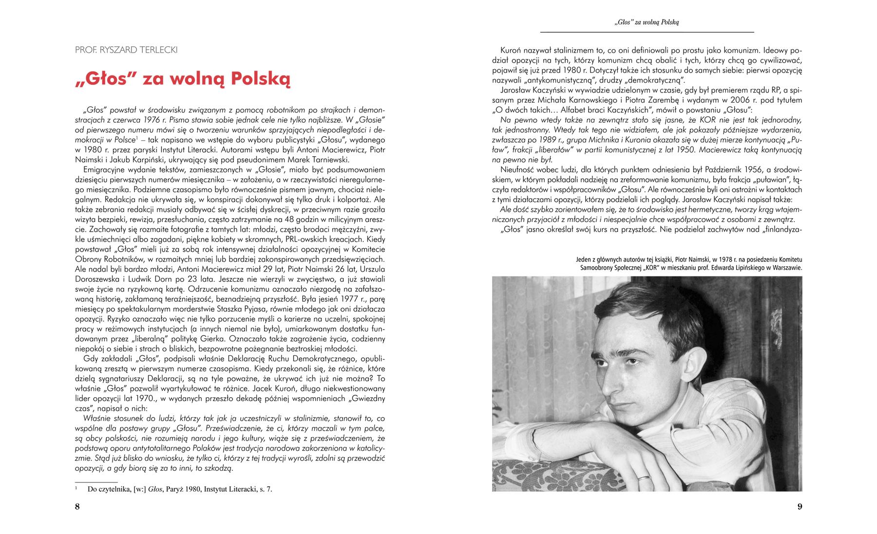 Głos Niepodległości - strony 8-9