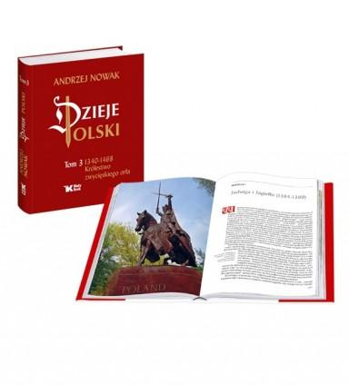 Dzieje Polski tom 3. Królestwo zwycięskiego orła - prof. Andrzeja Nowaka, Fot. wydawnictwo Biały Bruk