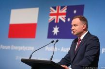 Źródło: www.prezydent.pl / Inauguracja Polsko-Australijskiego Forum Energetycznego przez Prezydenta RP