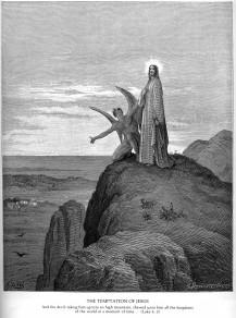 Źródło: Gustave Dore / Kuszenie Jezusa