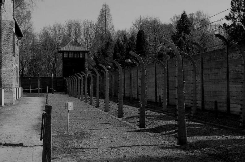 Niemiecki obóz zagłady Auschwitz-Birkenau. Fot.: Dudva/Wiki Commons