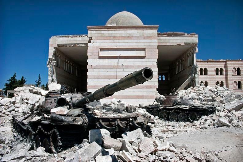 Wojna w Syrii trwa od 2011 roku. Nikt nie wie kiedy ostatecznie się zakończy i jaki przybierze obrót. Fot.: Christiaan Triebert/ Wikimedia Commons