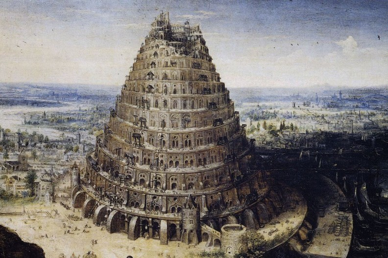 Budowa Wieży Babel według Lucasa van Valckenborcha.