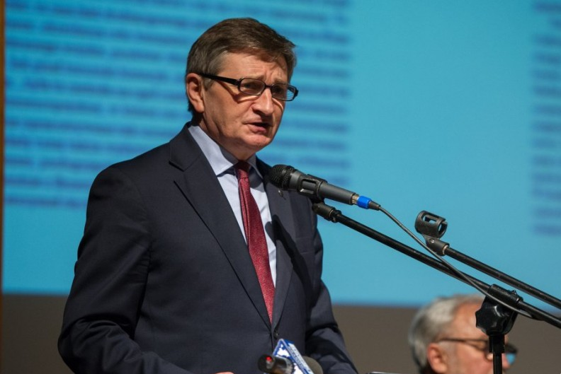 Marszałek Sejmu Marek Kuchciński.   Fot. A. Bujak