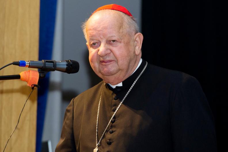 Kard. Stanisław Dziwisz. Fot. Michał Klag/Biały Kruk