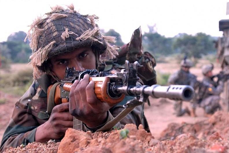 Indyjska armia podaje, że każda ze stron zgromadziła około 3000 żołnierzy w okolicy spornych terytoriów. Fot.: Crista Yazzie, U.S. Army/ Wikimedia Commons