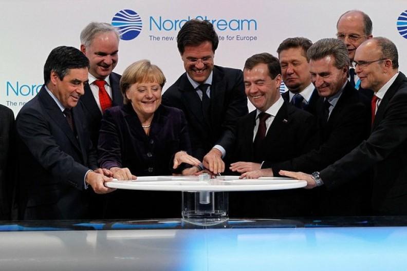 Niemcy obawiają się, że sankcje nałożone na Rosję odbiją się również na gospodarce Niemiec.     Fot.:  Kremlin.ru/4.0 International/Wikimedia Commons