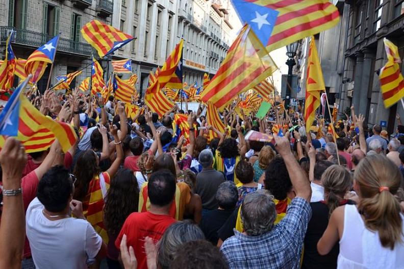 Katalończycy chcą referendum dotyczącego niepodległości Katalonii.  Fot.:Josep Renalias/3.0/Wikimedia Commons