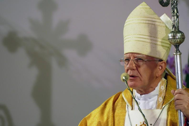 Abp Marek Jędraszewski apelował na Krzeptówkach o uszanowanie wartości chrześcijańskich.     Fot.: A. Bujak