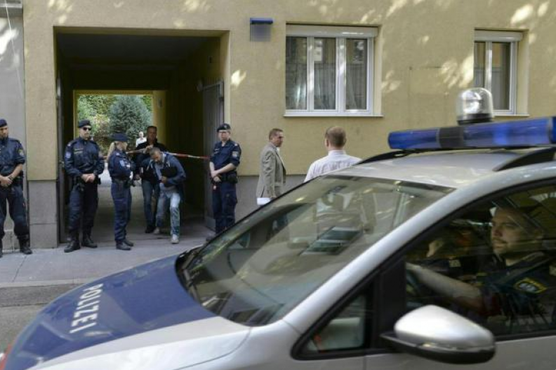 Miejsce zbrodni w Wien-Favoriten. Fot.: ORF
