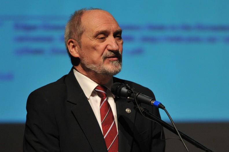 Szef MON Antoni Macierewicz.   Fot.: Archiwum Białego Kruka