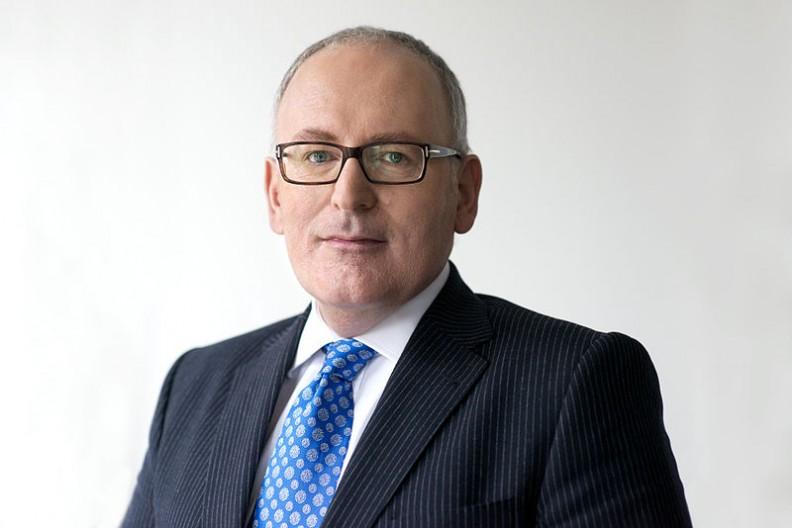 Wiceprzewodniczący Komisji Europejskiej, Frans Timmermans.  Fot.:Dutch Ministry of Foreign Affairs/2.0 Generic/Wikimedia Commons