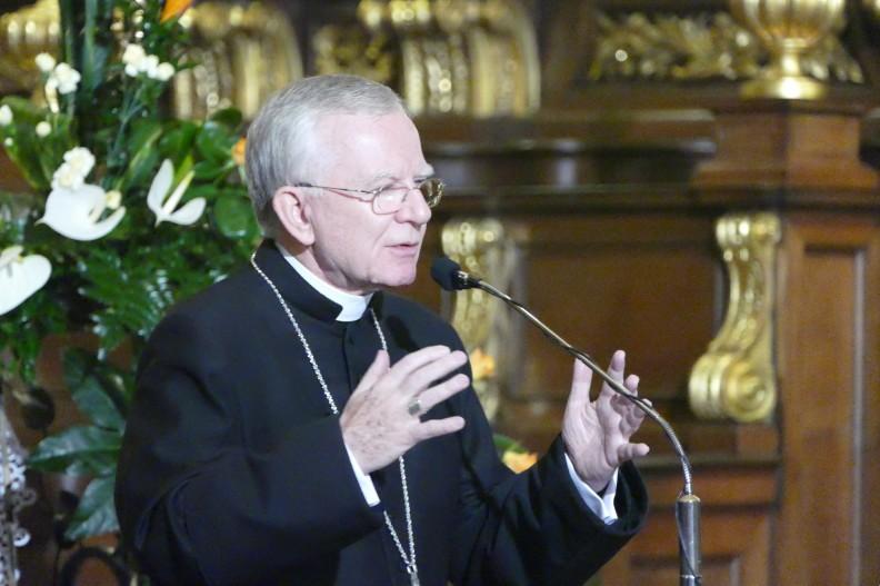 Abp Marek Jędraszewski podczas październikowych Dialogów u św. Anny. Fot.: Monika Jaracz/Archidiecezja Krakowska