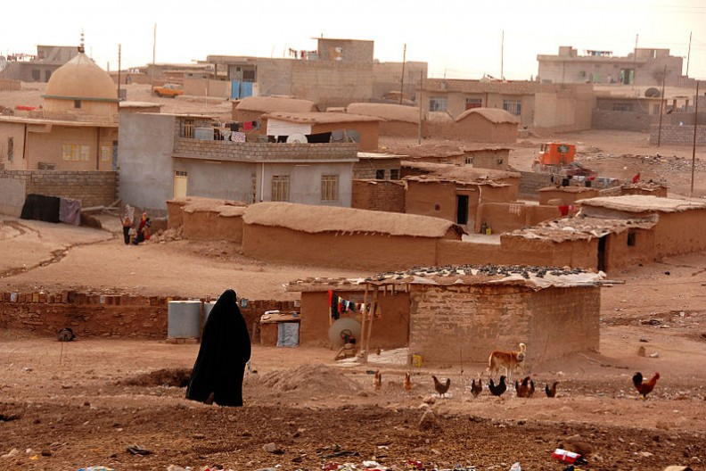 Widok na Mosul miasto w północnym Iraku. Zdjęcie zrobione w 2008 roku.   Fot.:U.S. Army photo by Spc. Kieran Cuddihy/Wikimedia Commons