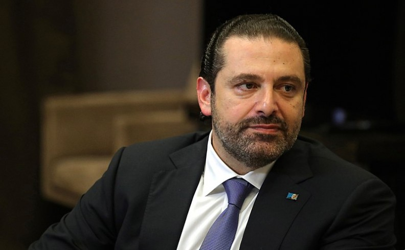 Premier Libanu Saad Hariri.    Fot.:kremlin.ru/4.0 International/Wikimedia commons