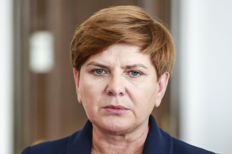 Premier Beata Szydło. Fot.: Jan Śliwka