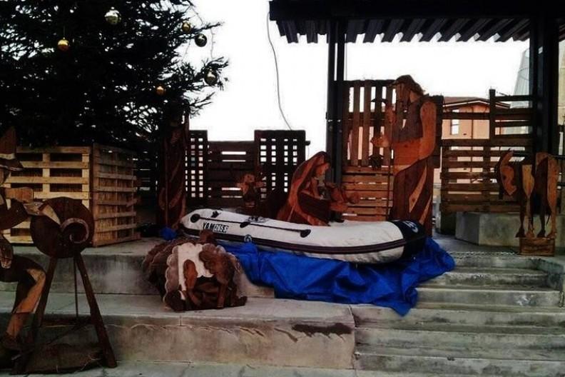 Scena Bożego Narodzenia w mieście Castenaso w Bolonii. Fot.:Giacomino Nicolazzo/www.rt.com/news