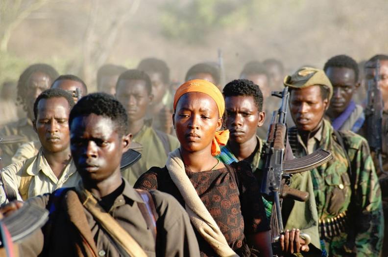 Rebelianci z Frontu Wyzwolenia Oromo.   Fot.:Jonathan Alpeyrie/https://creativecommons.org/licenses/by-sa/3.0