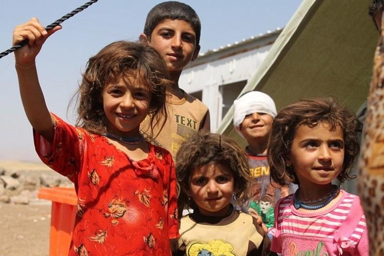 Największymi ofiarami wojny zawsze są dzieci.    Fot.:DFID - UK Department for International Development/2.0/Wikimedia commons