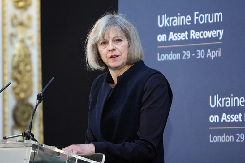 Premier Wielkiej Brytanii Theresa May.  Fot.: Foreign and Commonwealth Office/ Open Government Licence v1.0/Wikimedia commons