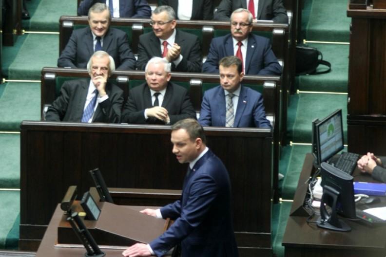 Najważniejsi przedstawiciele Prawa i Sprawiedliwości w Sejmie. Fot.: Piotr Drabik/Wiki Commons/CC-BY-2.0