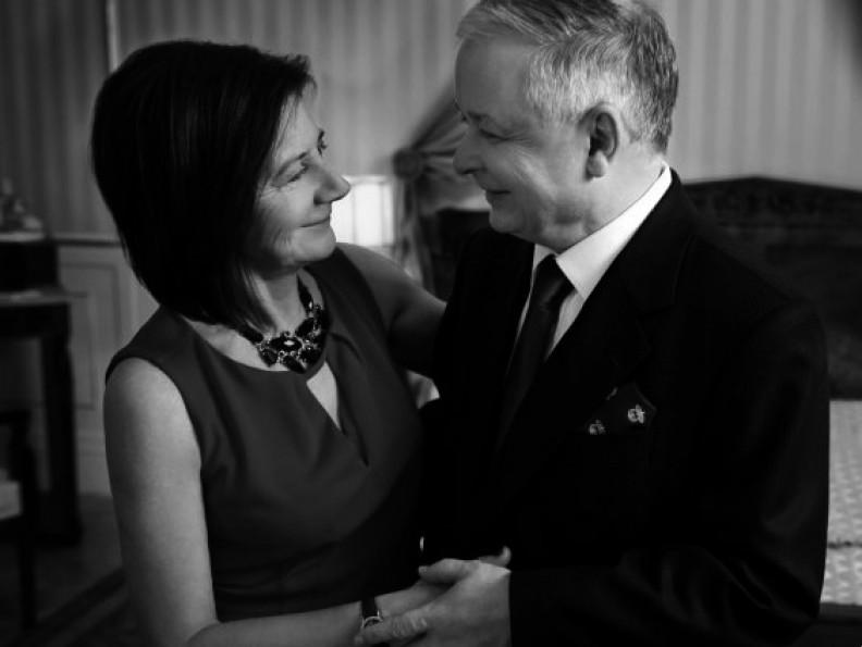 Lech i Maria Kaczyńscy. Fot.: KPRP