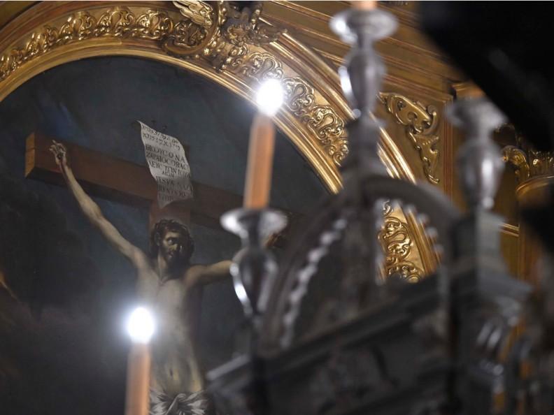 Początek Wielkiego Postu w krakowskiej Katedrze Wawelskiej. Fot.: Adam Bujak