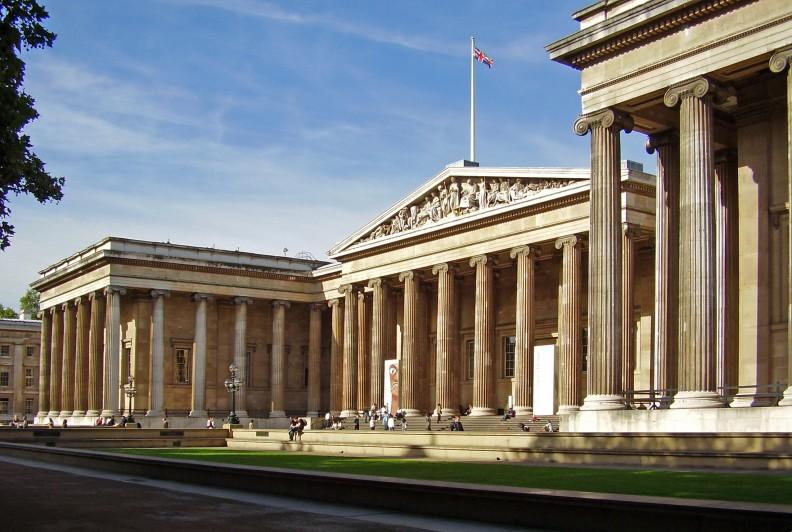 Fasada British Museum. Fot.: Ham, Jacek Halicki. CCA-Share Alike 3.0 Unported license