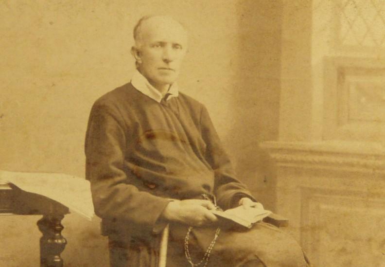 O. Bernard Łubieński. Fot. Redemptoryści