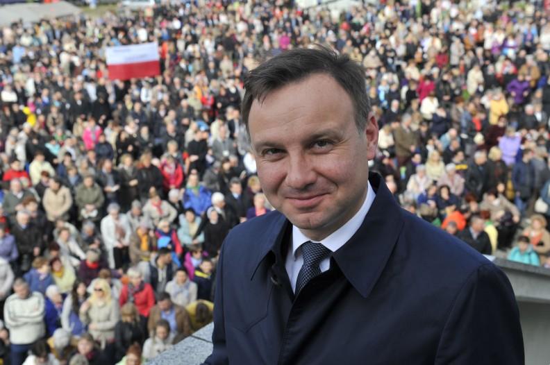 Prezydent Andrzej Duda. Fot. Adam Bujak