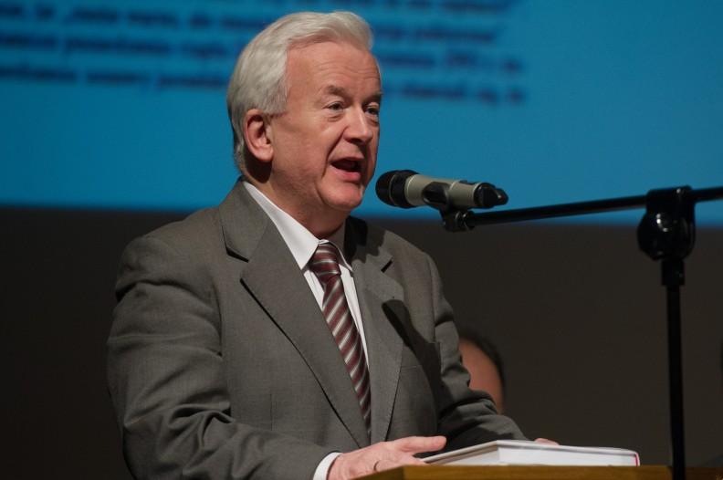 Prof. Janusz Kawecki, członek KRRiT. Fot. Michał Klag/Biały Kruk