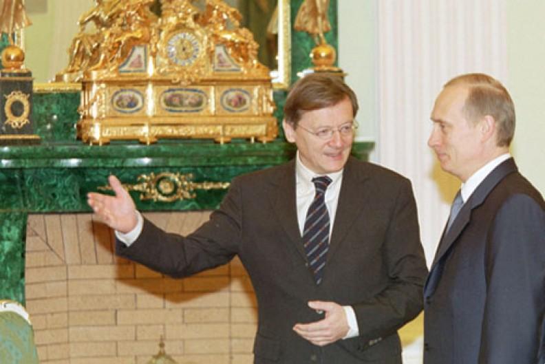 Były kanclerz Austrii Wolfgang Schüssel z prezydentem Rosji Władimirem Putinem. Fot.: kremlin.ru/CC-BY-3.0
