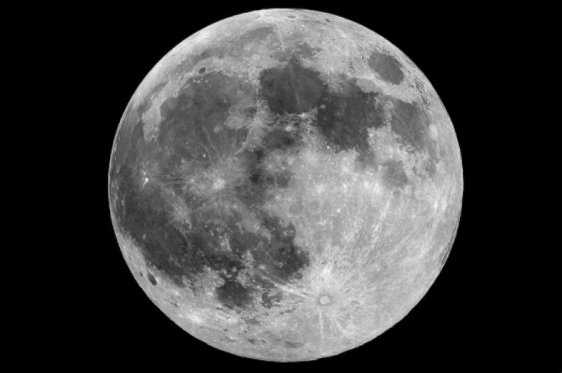 Księżyc / Źródło: Wikipedia
